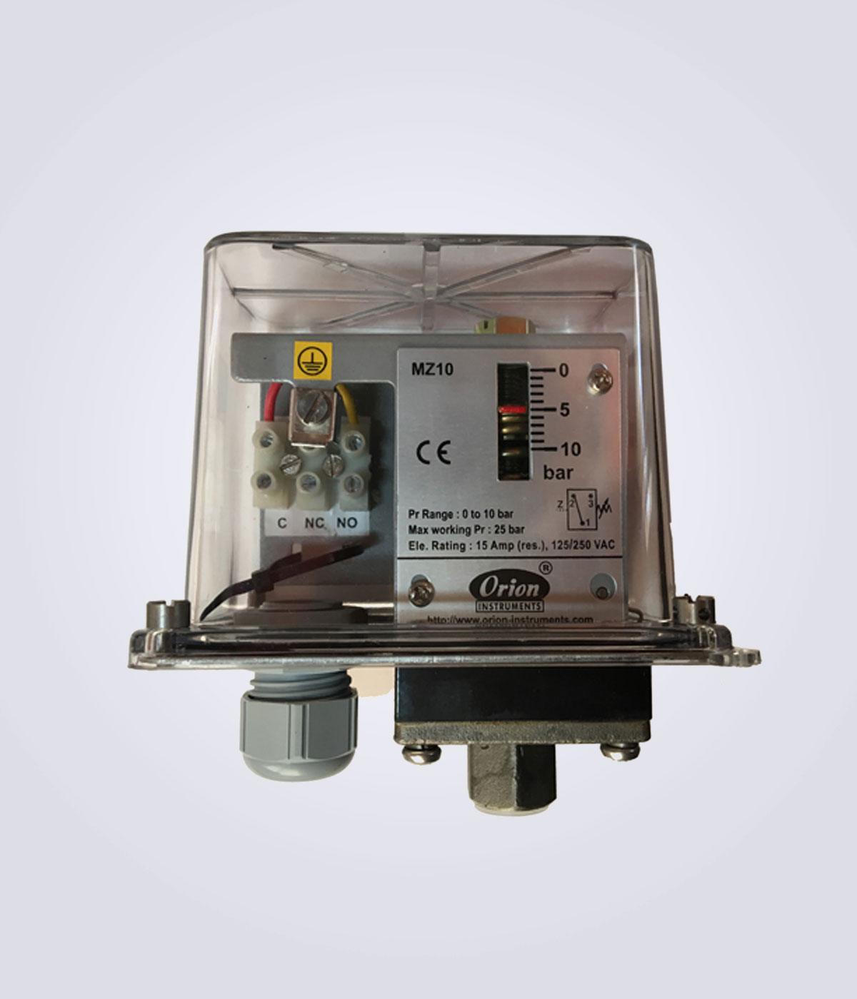 High Range Pressure Switches MA Series