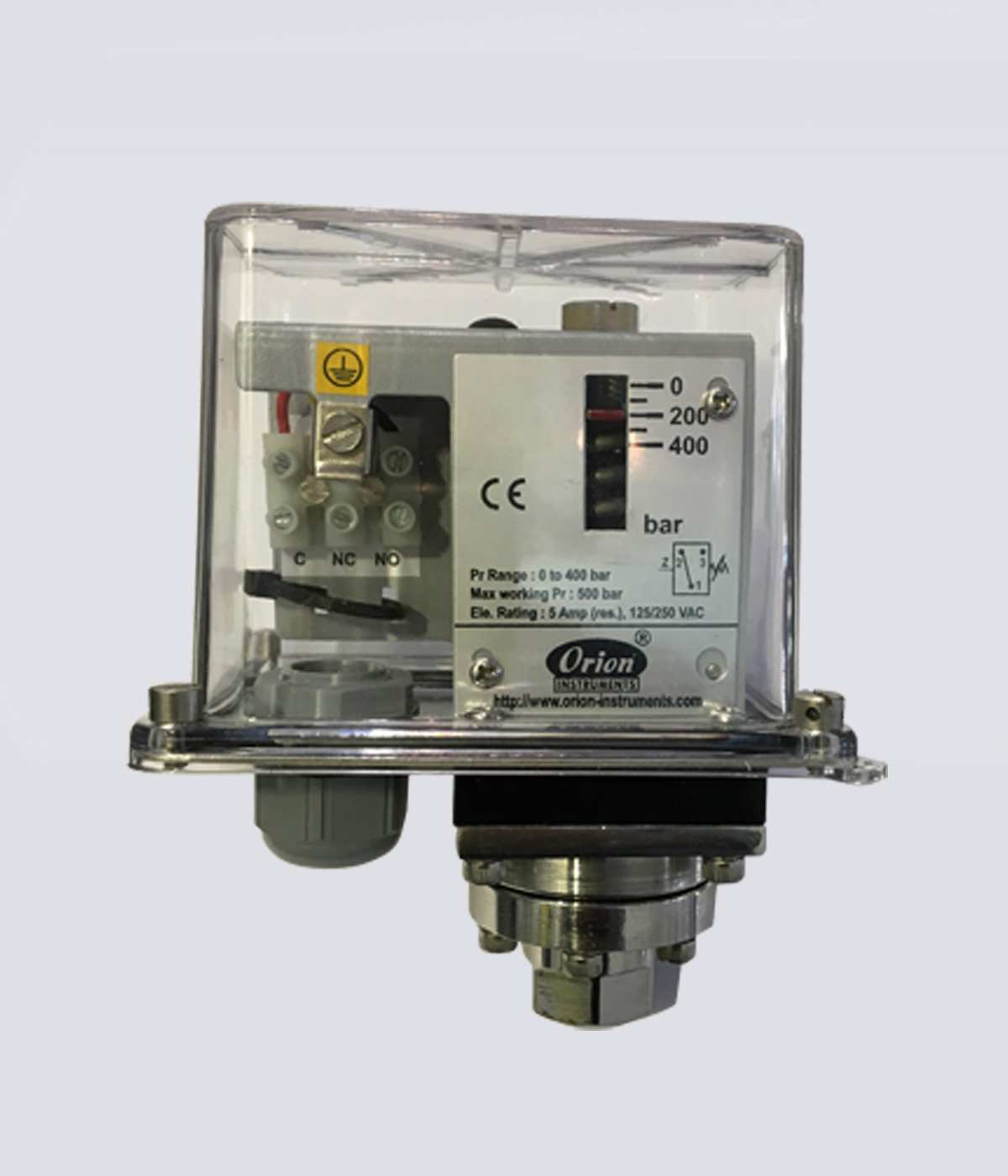 Fixed Differential Pressure Switches, Flanged end Pressure Switch ...