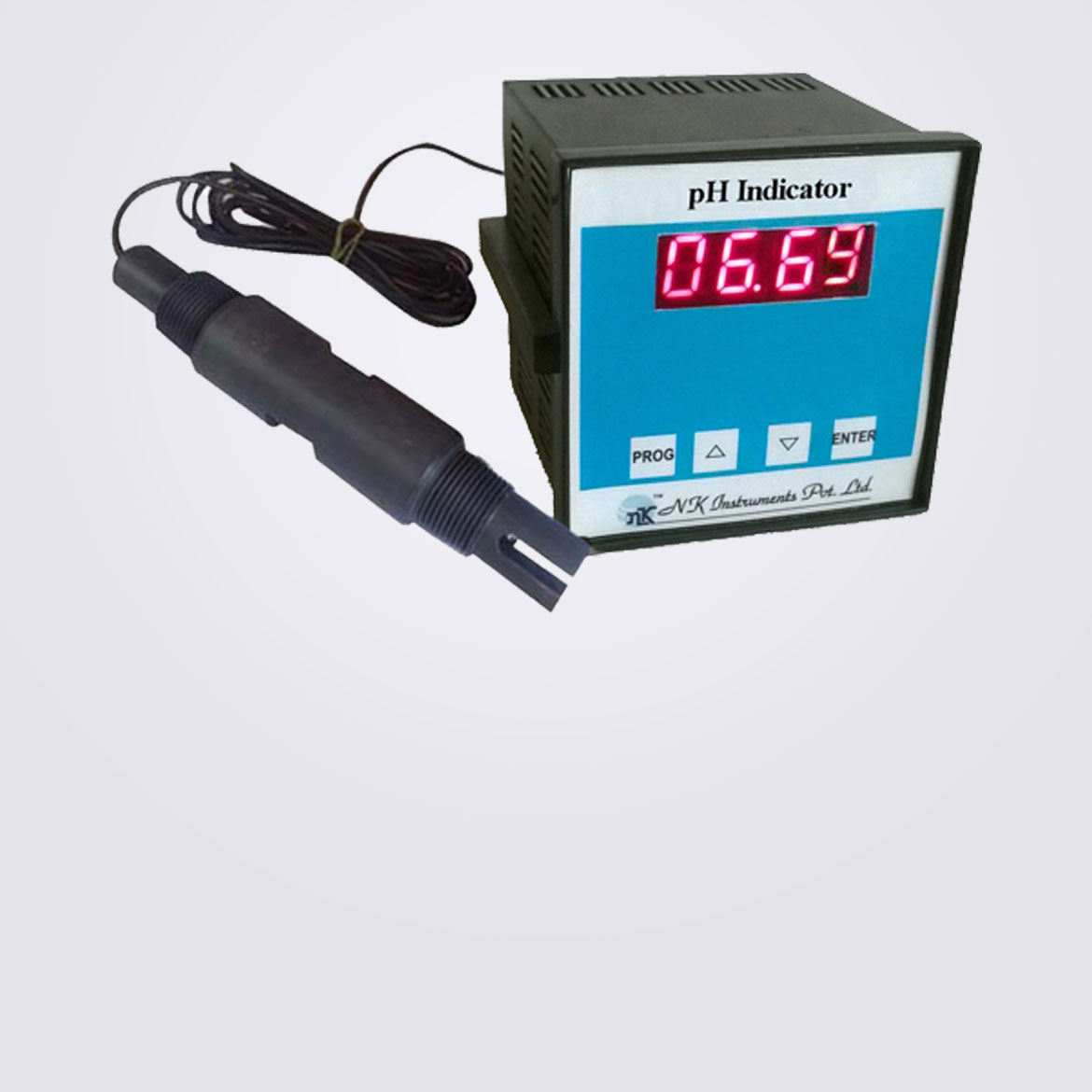 pH Electrode with Digital Indicator
