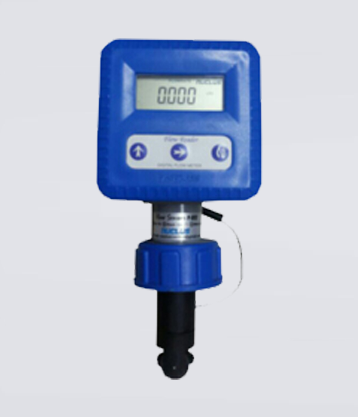 Battery Operated Paddle Wheel Type Flow Meter - FloReader