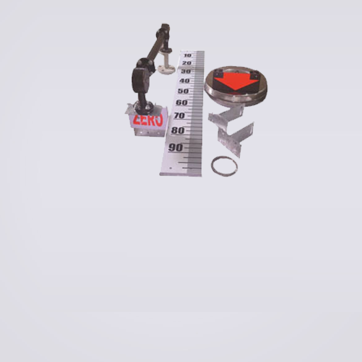 FLOAT & BOARD LEVEL GAUGE WITH GUIDE WIRES